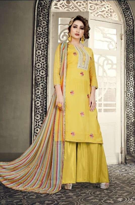 Rama Fashion R 230 Muslin Salwar Suit Catalog Wholesale Price