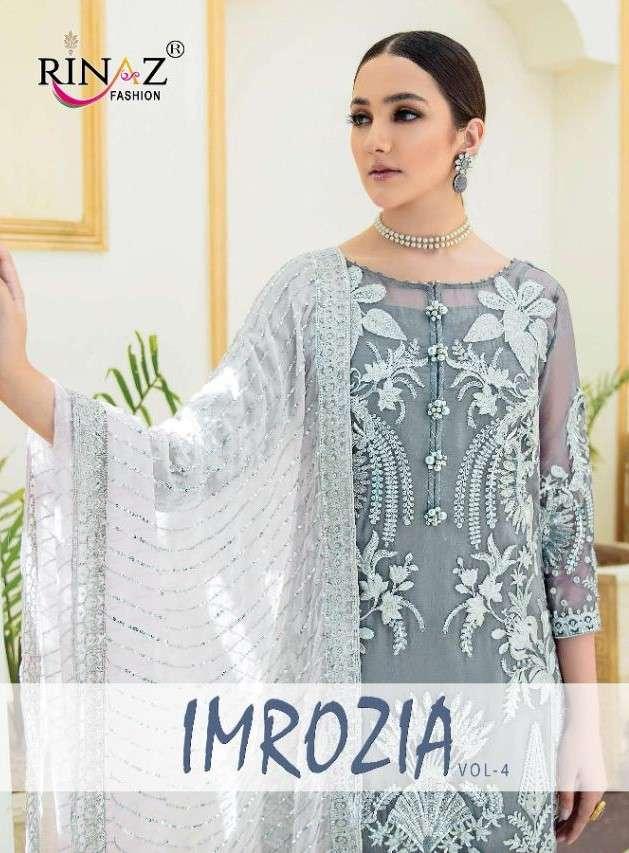 Rinaz Fashion Imrozia Vol 4 Premium Collection pakistani Suit New Designs