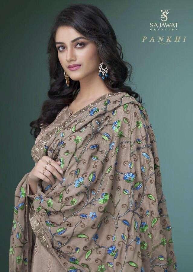 Sajawat Pankhi Vol 1 Exclusive Designer Style 3 Piece Set Collection in Wholesale