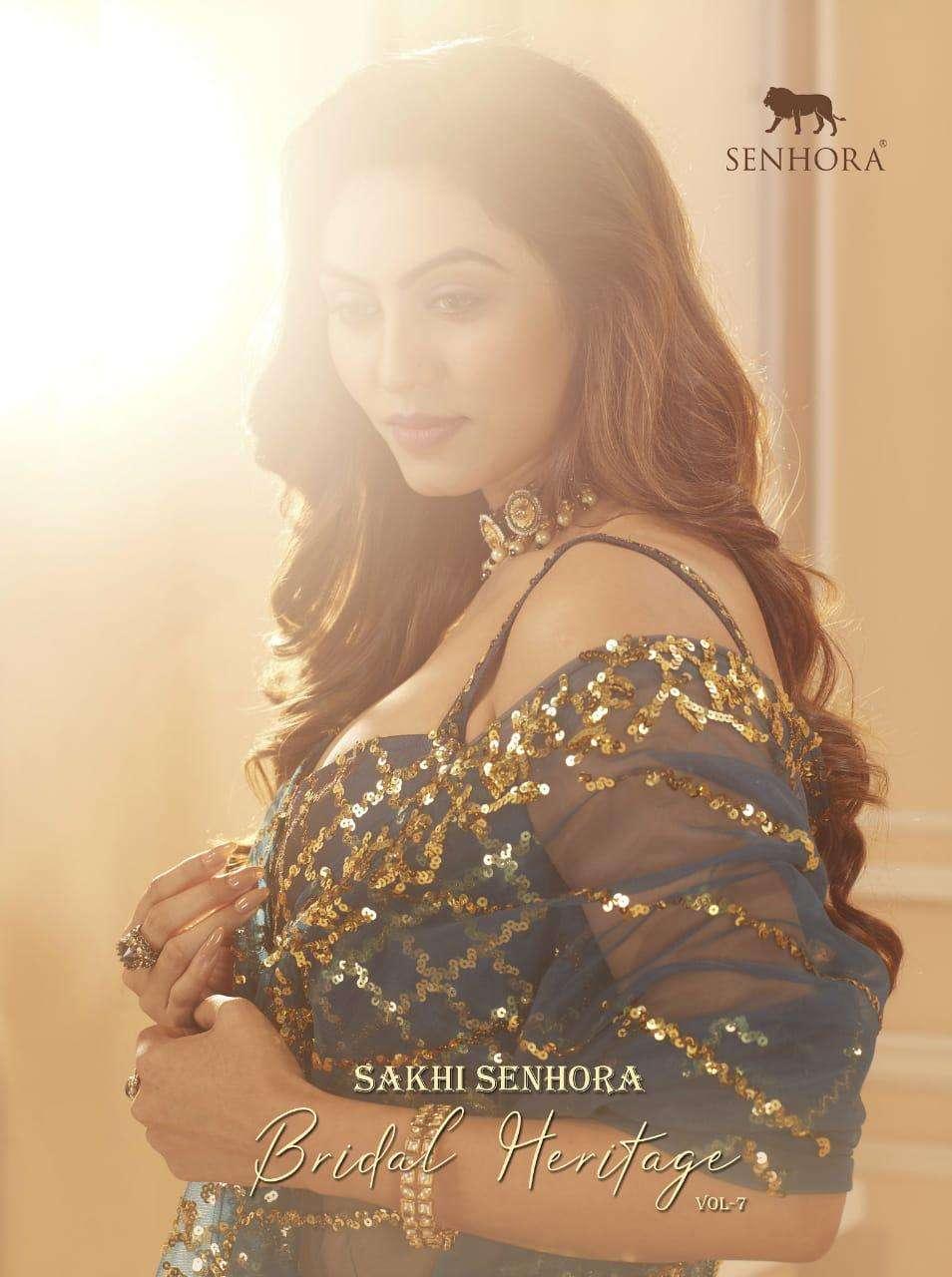 Senhora Sakhi Bridal Heritage Vol 7 Designer Lehenga Choli New Collection