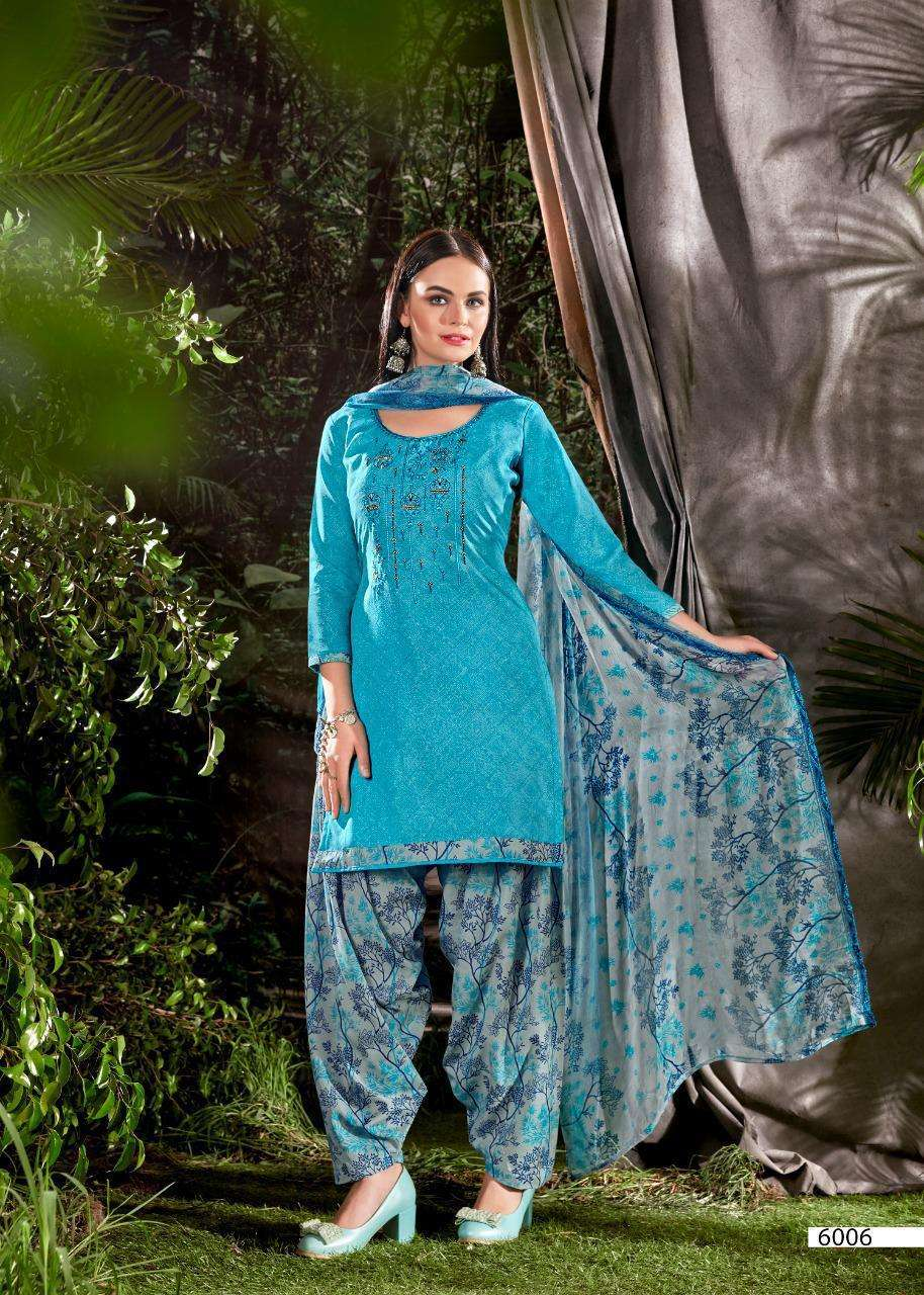 Shiv Gori Priya Vol 6 Printed Dress material Catalog Supplier
