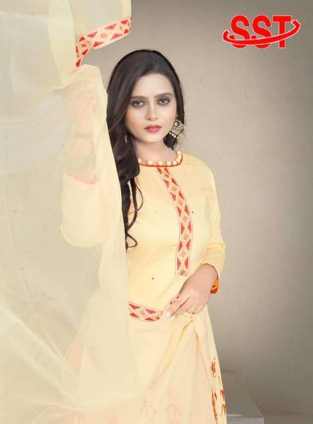 SST Design No 138 Non Catalog Fancy Suit Collection at Best Rate