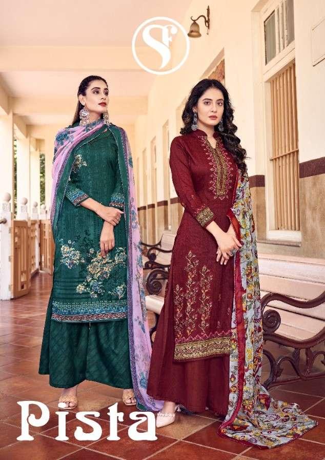 Sweety Pista Stylish Cotton Salwar kameez Catalog Wholesaler