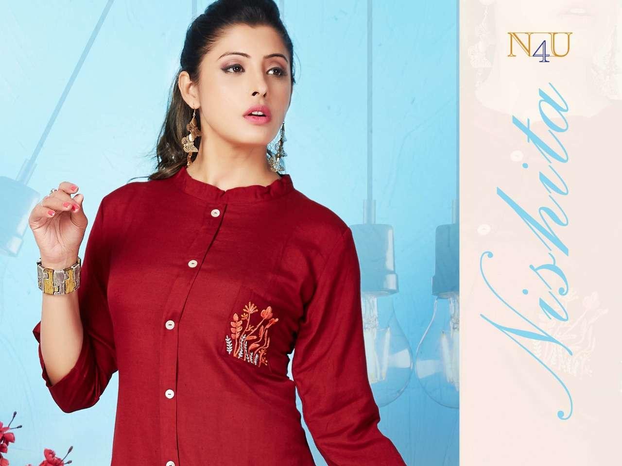 Tunic House Nishita Fancy Rayon Short Top Catalog Wholesale Price