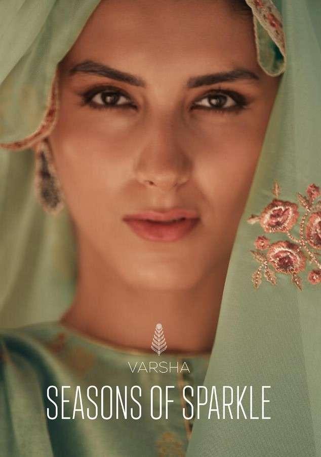 Varsha fashion Seasons Of Sparkle Designer Salwar Kameez Catalog Supplier