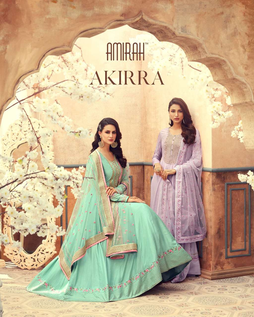 Amirah Akirra Designer Party Wear Anarkali Dress New Collection at Best rate