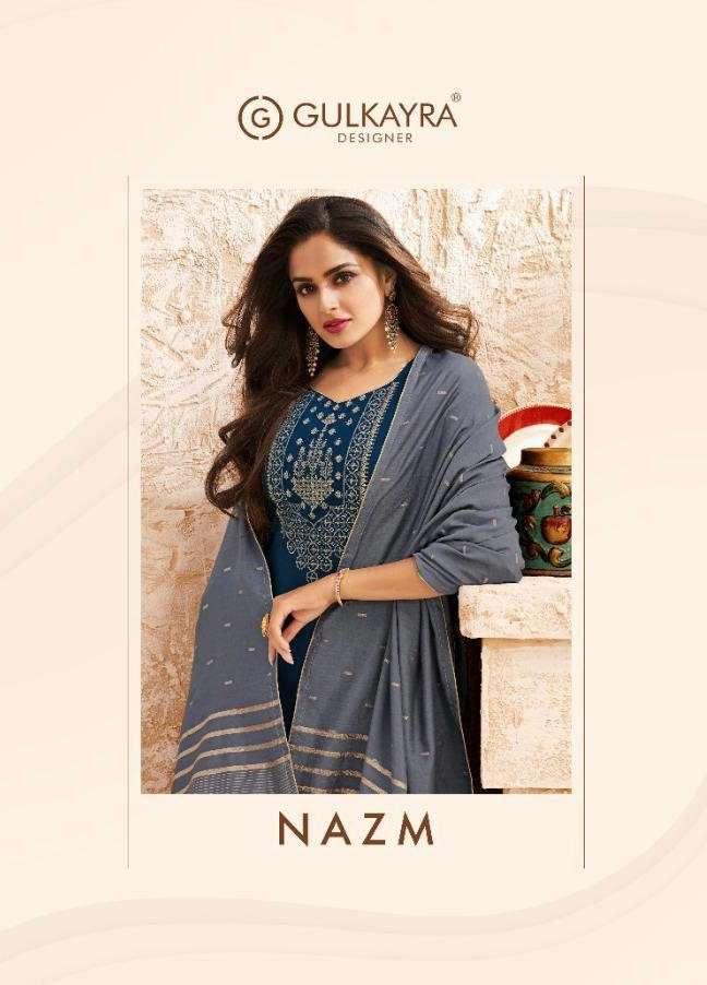 Gulkayra Nazm Exclusive Jam Silk Salwar Suit New Catalog Wholesaler
