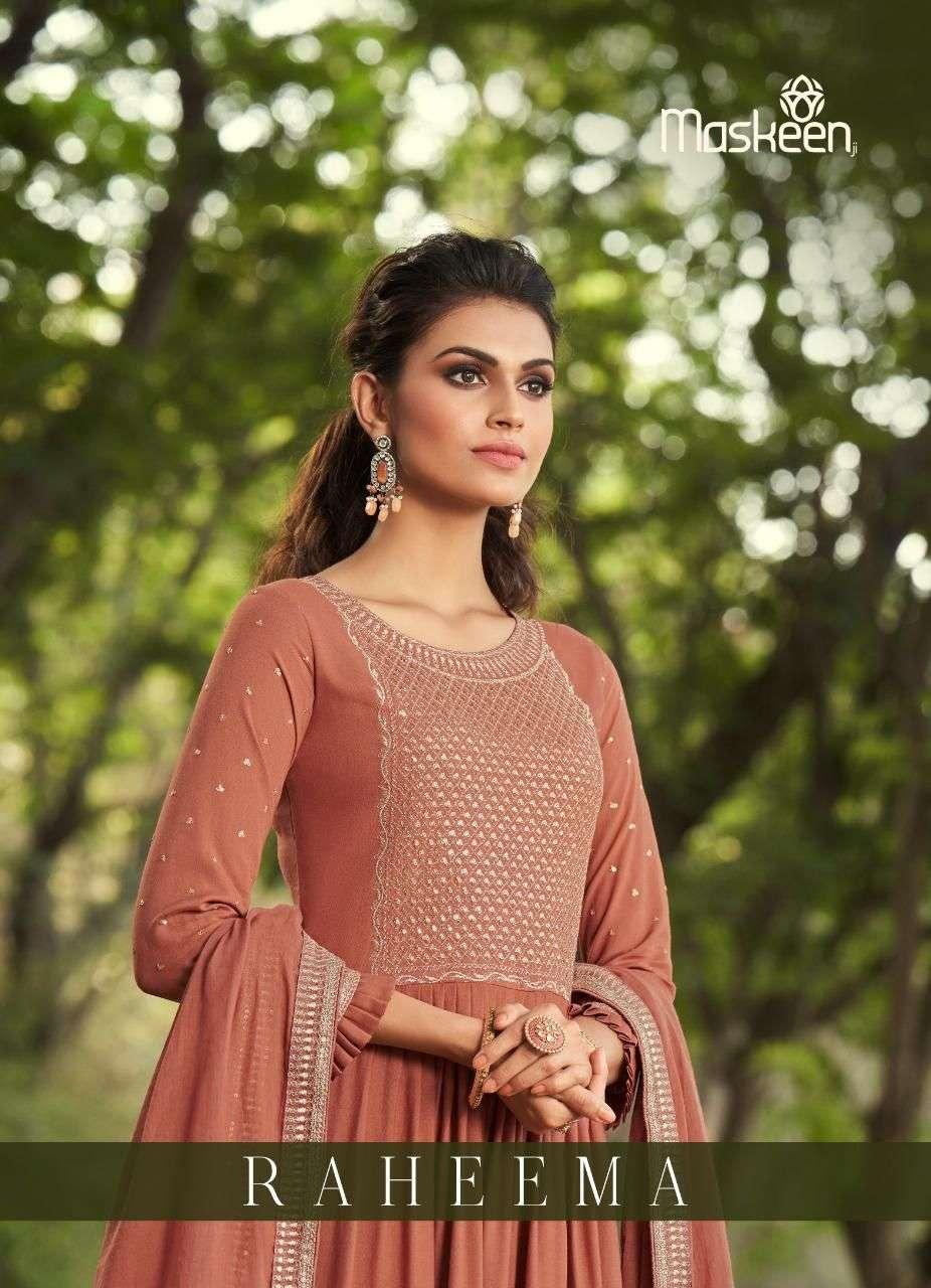 Maskeen Raheema Designer Readymade Dress New Catalog in Wholesale Price