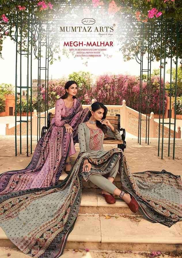 Mumtaz Arts Megh Malhar Lawn Cotton Digital Print Salwar Suit Dealer