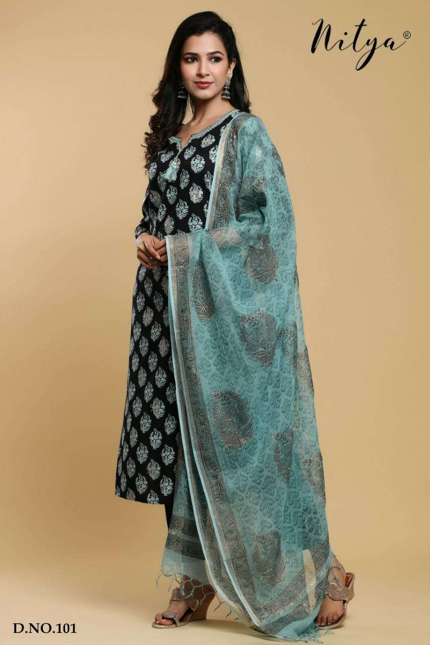 Nitya 101 and Nitya 102 Exclusive Size Set 3 piece Collection at Best Rate