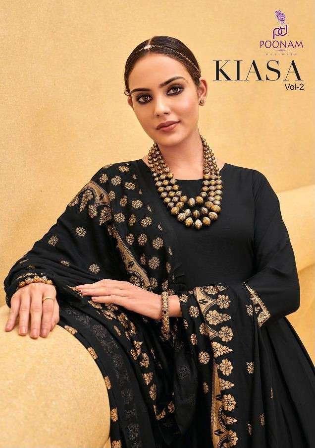 Poonam Kiasa Vol 2 Fancy Kurti Gown With Dupatta Set New Catalog Wholesale