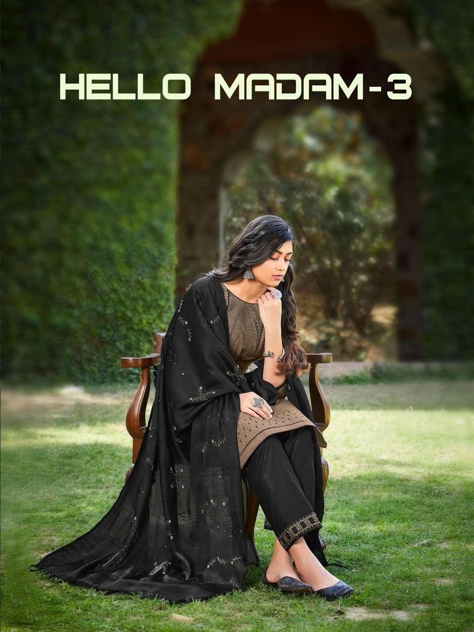 Raghav Royals Hello Madam Vol 3 Casual patiala Suit Catalog Supplier in Surat