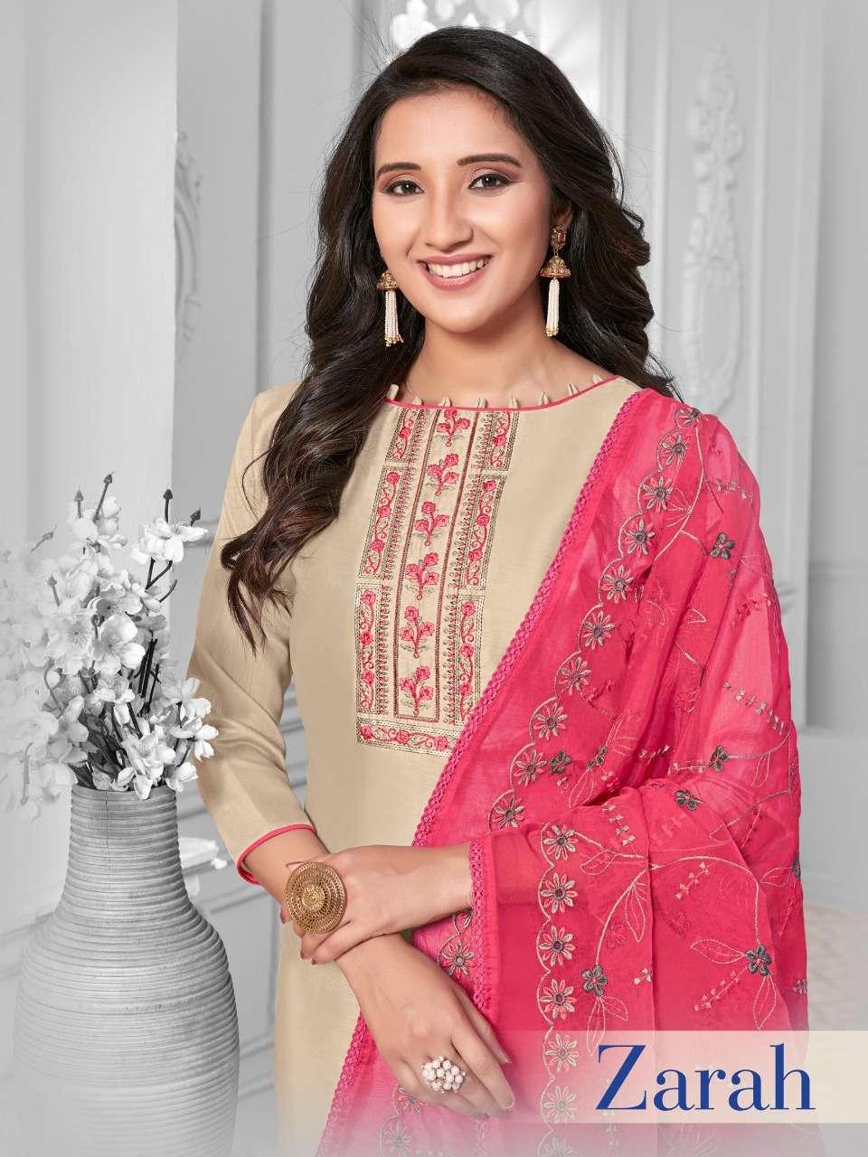 Raghav Royals Zarah Fancy Cotton SIlk Casual Suit Catalog Wholesale Price