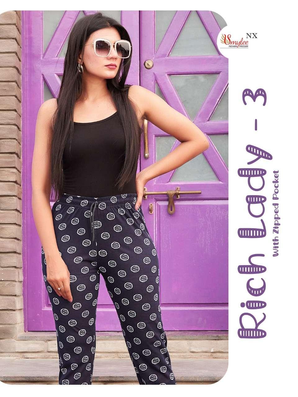 Rung Rich Lady Vol 3 Printed Pyjamas New Catalog Wholesale Price