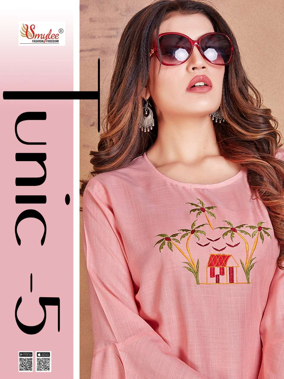 Rung tunics Vol 5 Fancy Rayon Short top Catalog Supplier