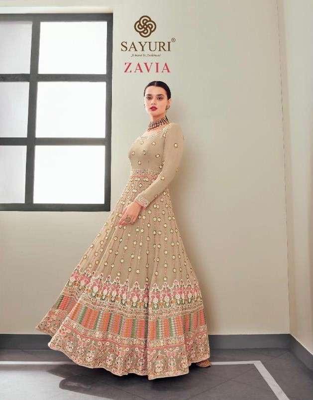 Sayuri Zavia By Aashirwad Designer Anarkali Suit Catalog Wholesaler