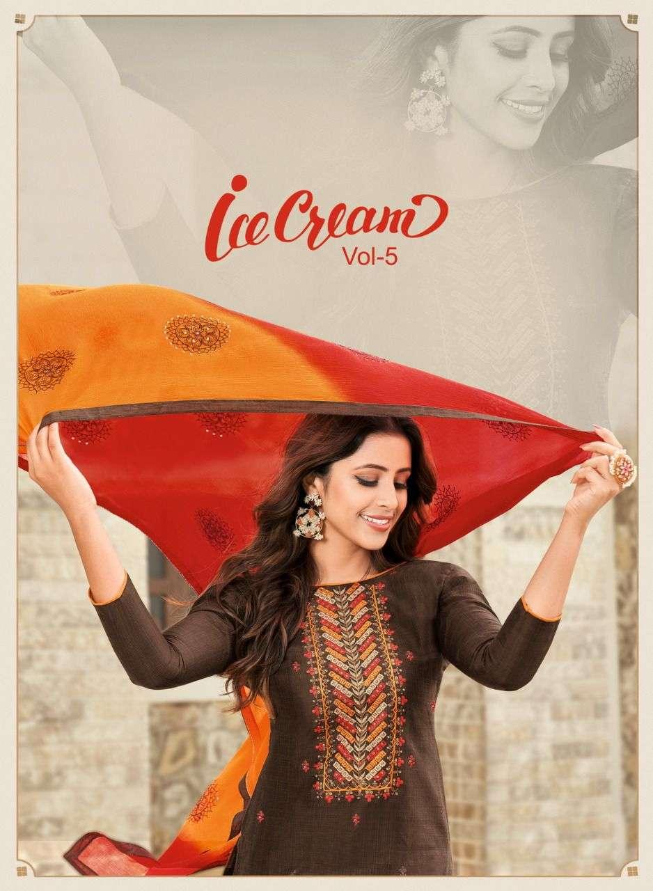 Shagun Ice Cream Vol 5 fancy casual Salwar kameez Catalog Wholesale Price
