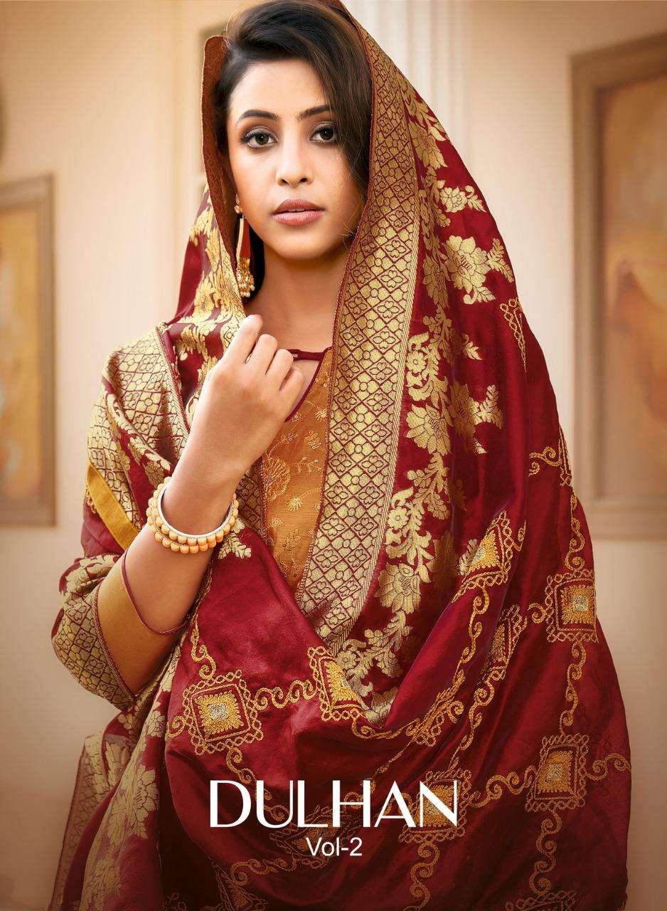 Shagun Lifestyle Dulhan Vol 2 Banarasi Dupatta Casual Suit New Collection