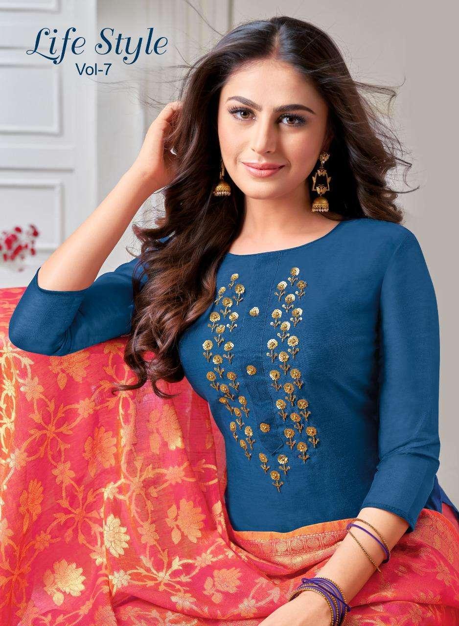Shagun Lifestyle Vol 7 casual Dress Catalog Wholesale in Surat