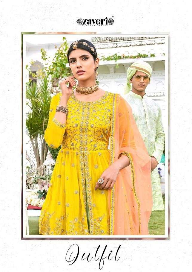 Zaveri Outfit Vol 1 Designer ready to Wear New Collection at Best Rate