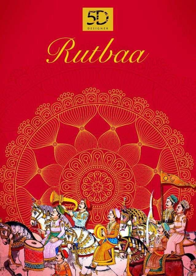 5D Designer Rutba Printed georgette Saree catalog Wholesale Supplier
