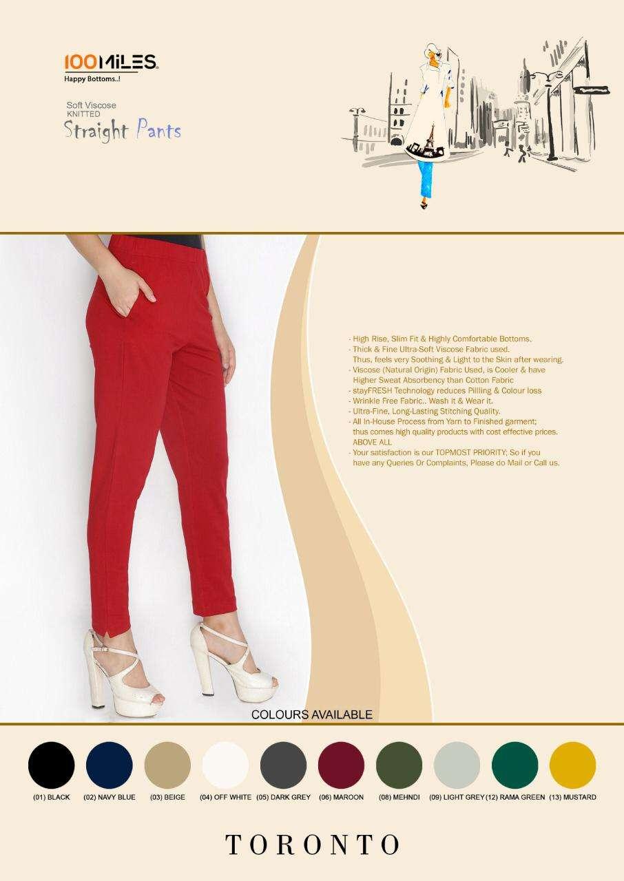 91Shades Toronto Fancy Viscose Stretchable Pants New catalog Buy Online