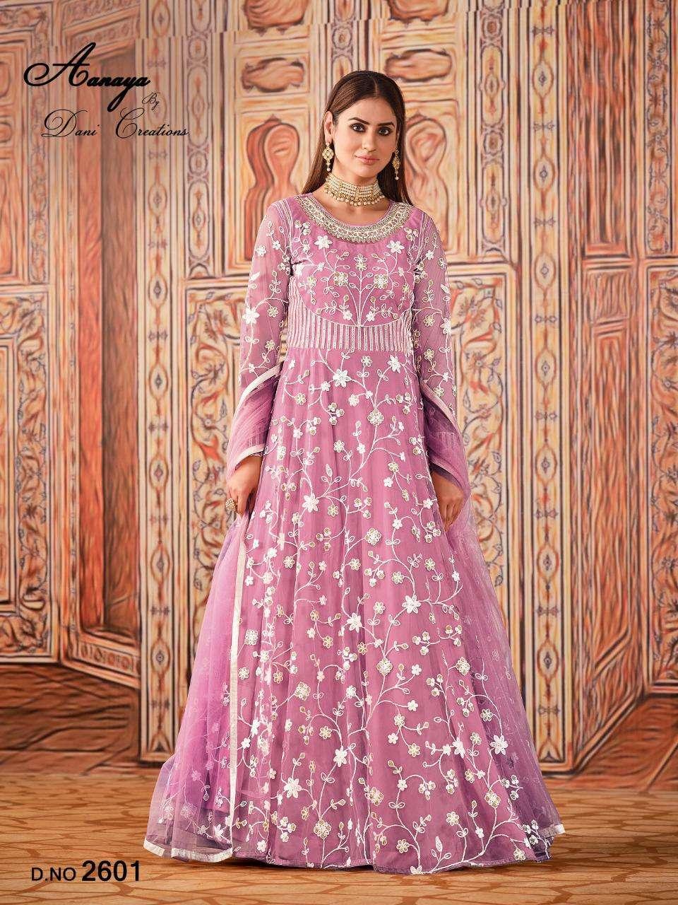 Aanaya Vol 126 Heavy Work Anarkali Salwar kameez Catalog at best Rate