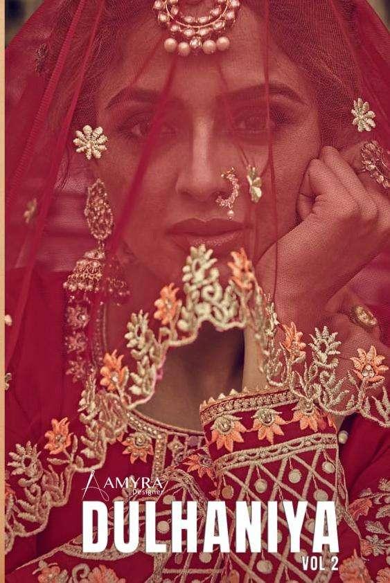 Amyra Designer Dulhaniya Vol 2 Exclusive Lehenga Style Salwar Kameez Collection