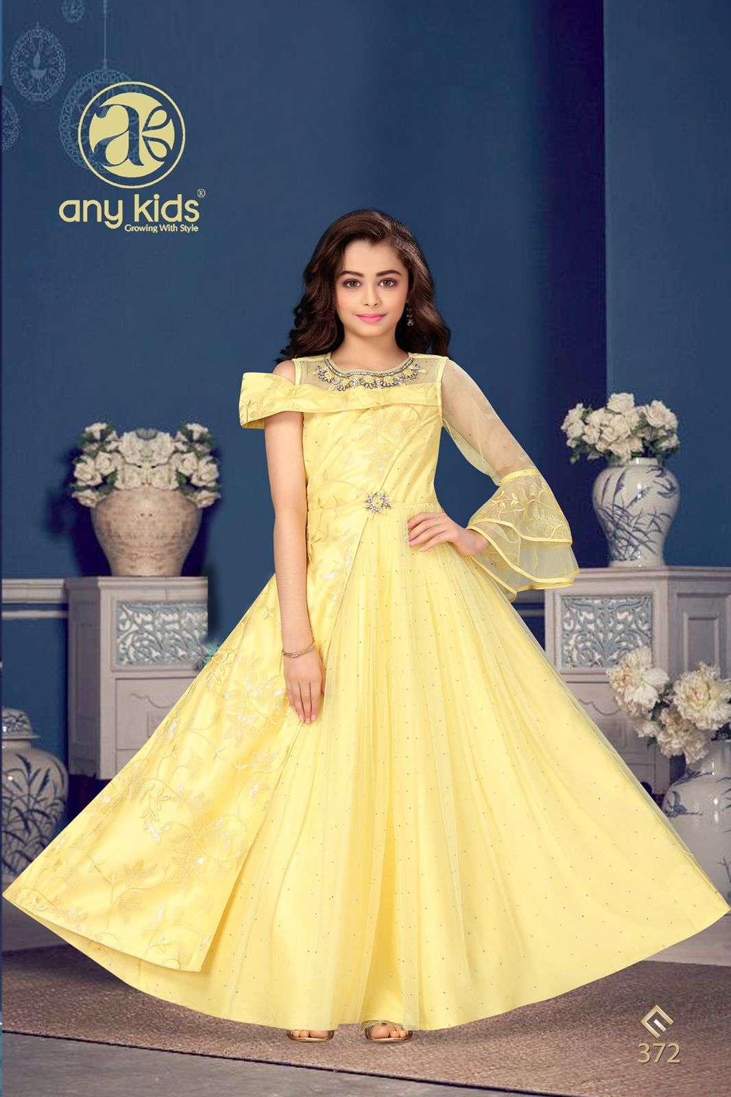 Anykids 370 to 391 Series Designer Readymade Kids Wear new Catalog In Wholesale Price