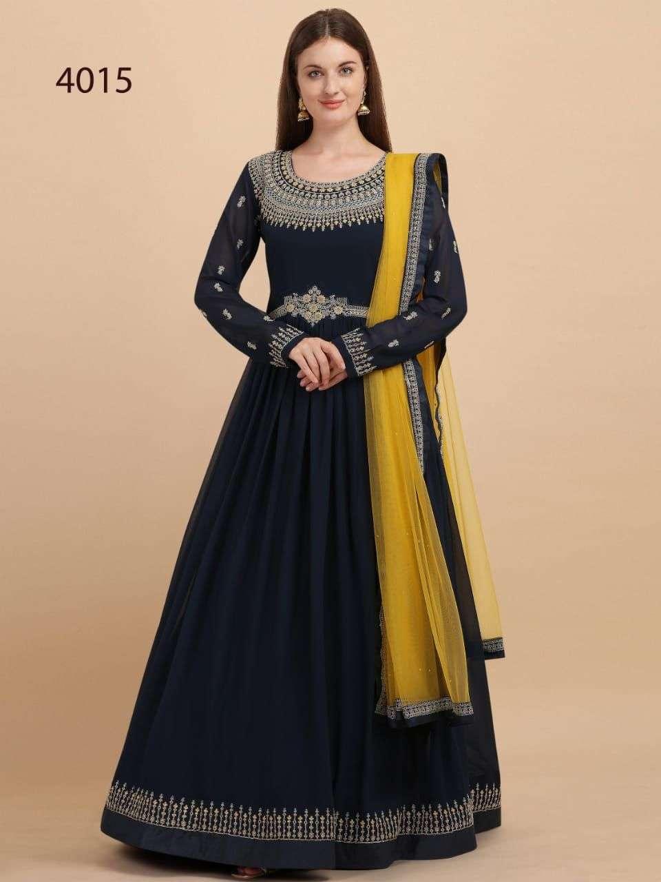 Avighaya 4015 Series Designer Party Wear Readymade Dress Catalog Wholesaler