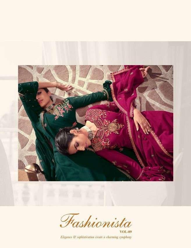 Avon Trends Fashionista Vol 9 Satin Georgette Wholesale Catalogue