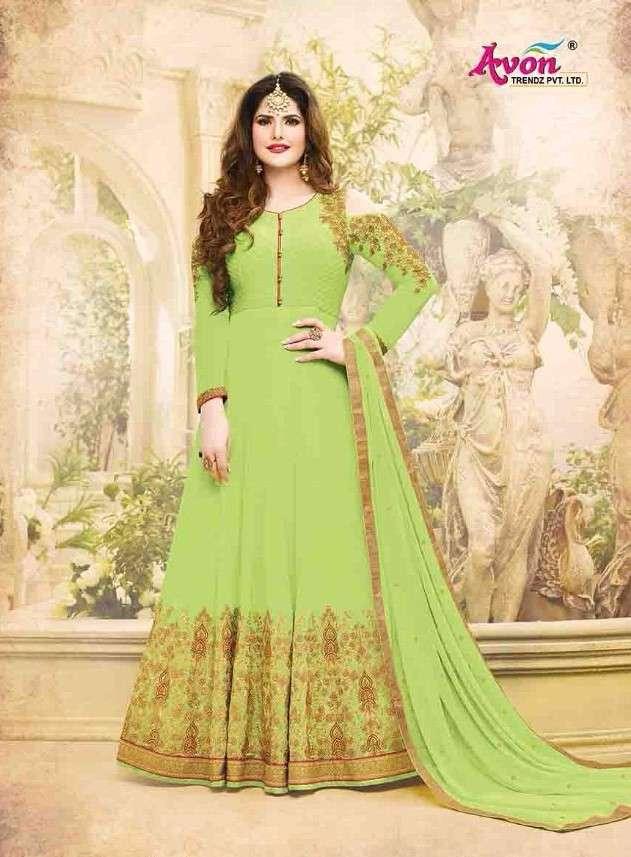 Avon Trends masakali Designer Party Wear Anarkali Dress New Collection