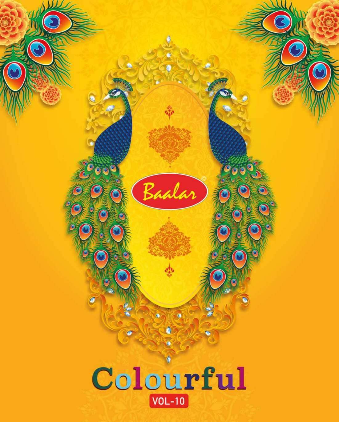 Baalar Colourful vol 10 Cotton Suit Wholesale Price