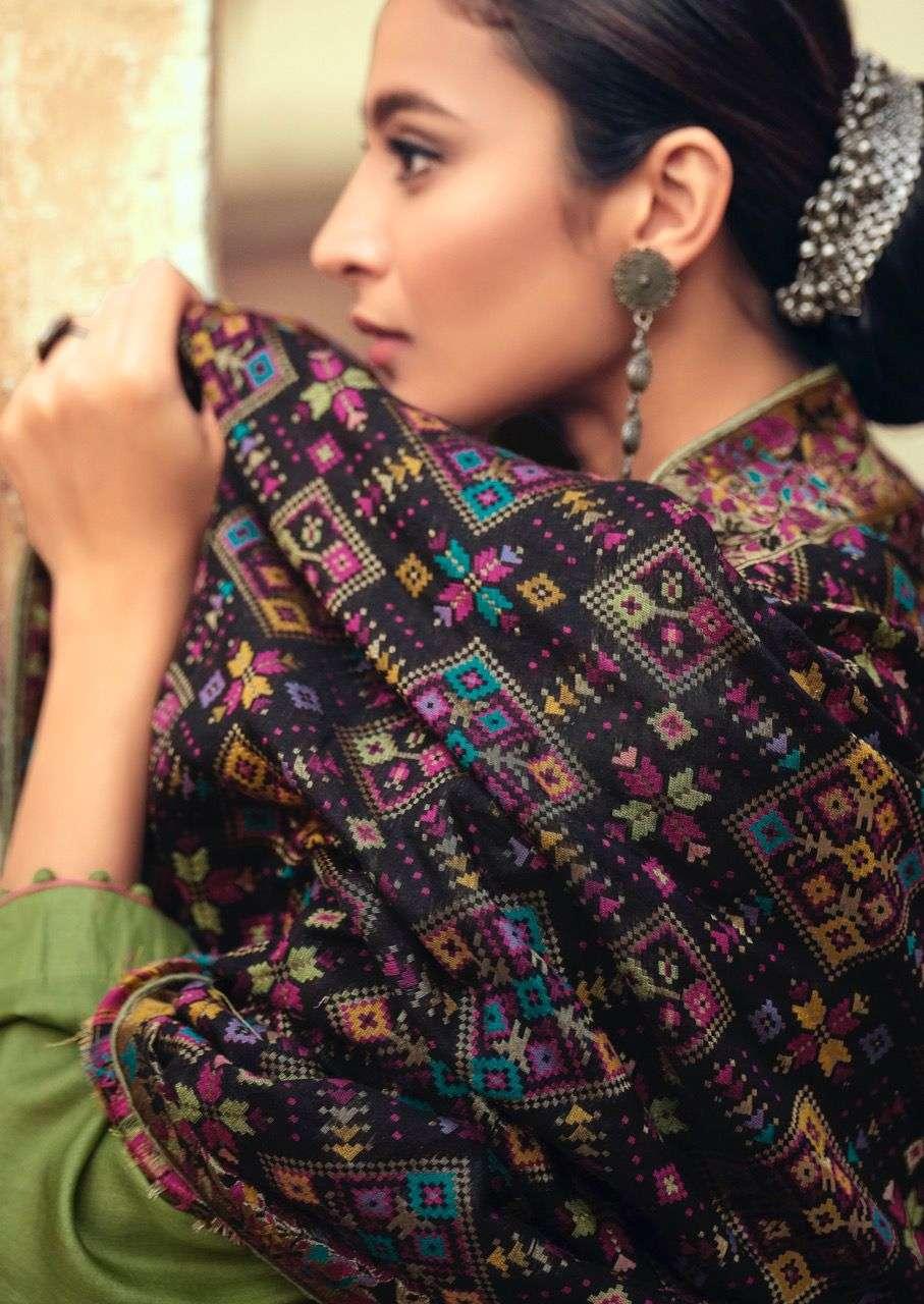 Deepsy Basera Exclusive Tusser Silk Saree Catalog Wholesale Supplier