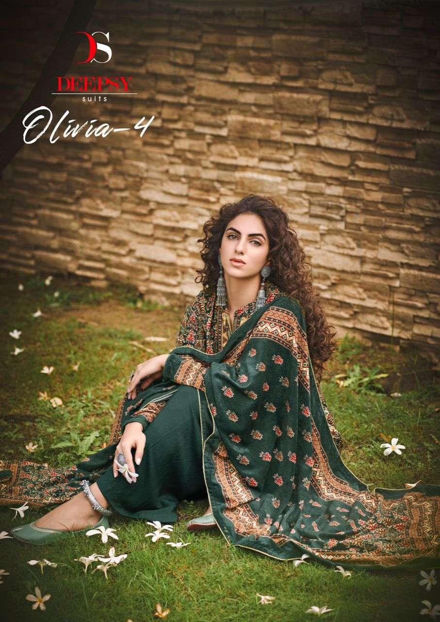 Deepsy Suits Olivia Vol 4 Premium Velvet Salwar kameez Winter Collection 2021