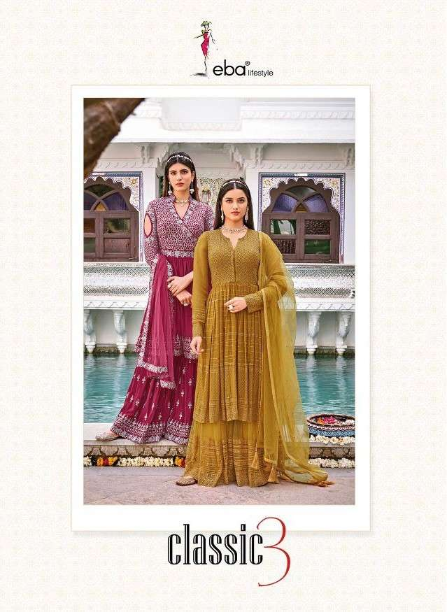 Eba Lifestyle Classic Vol 3 Exclusive Designer Salwar Suit Dress New Designs