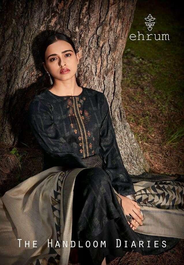 Ehrum The Handloom Diaries By Varsha Pashmina Wholesale Suit Dealer Surat