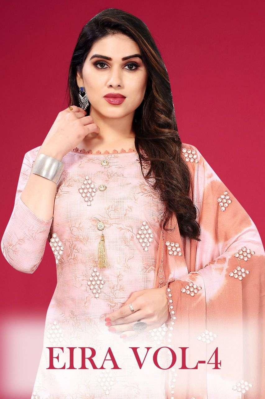 Eira Vol 4 Fancy Cotton Salwar Kameez catalog Wholesale Price