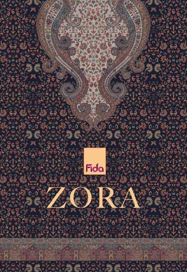 Fida Zora Exclusive Pashmina Salwar Kameez Catalog Wholesale Dealer