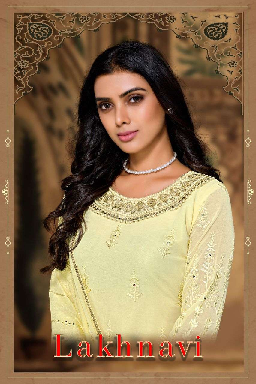 FK Fashion Hub Lakhnavi Work Salwar kameez Catalog Wholesale Supplier