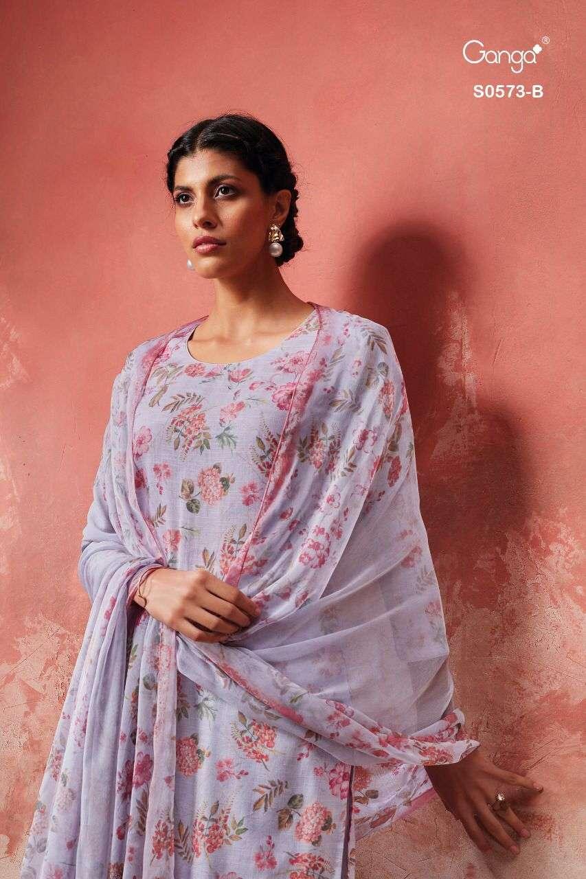 Ganga Rukh 573 Exclusive Cotton Salwar kameez Catalog Wholesale Price