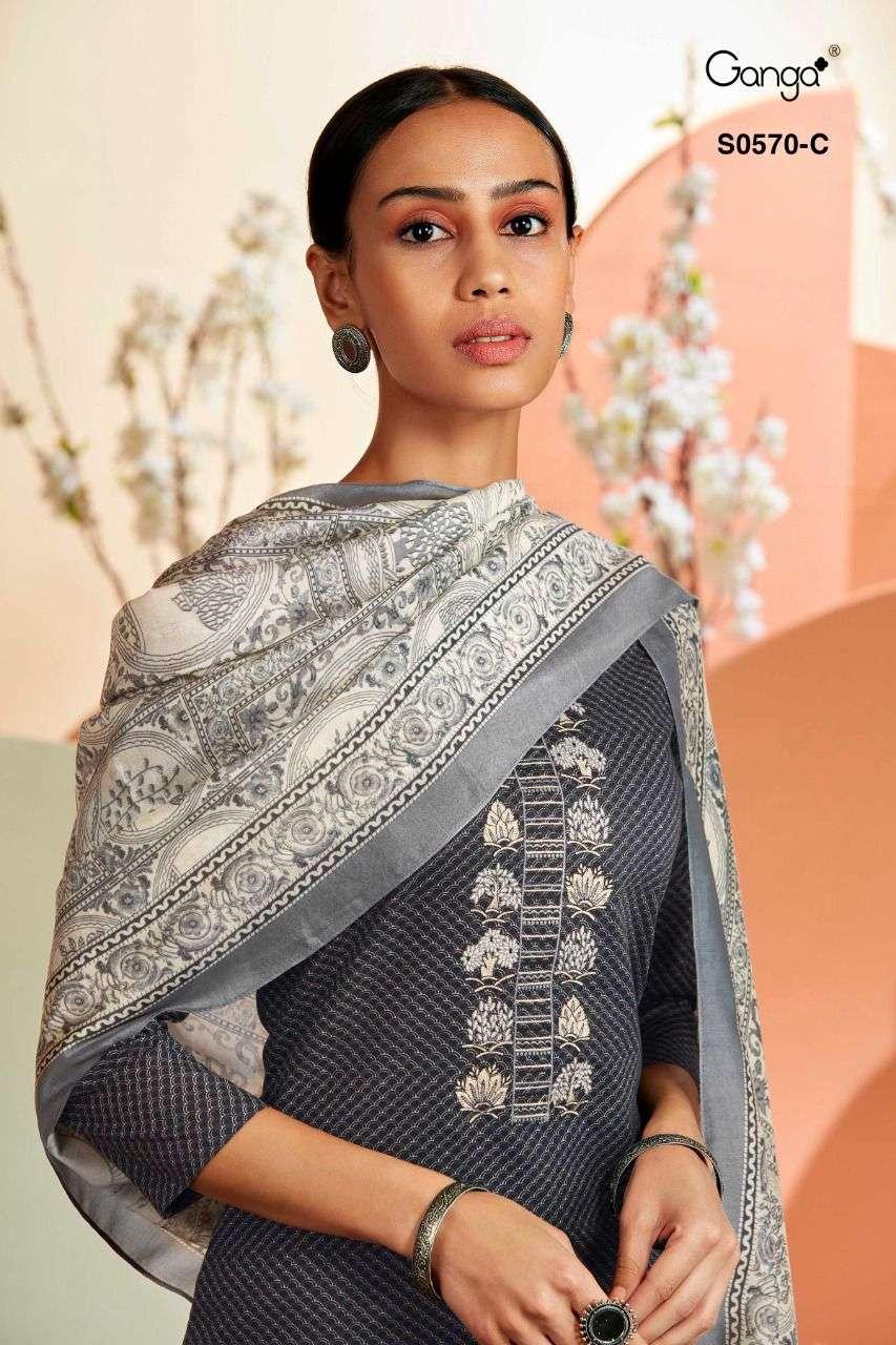 Ganga Savea 570 Exclusive Cotton Salwar Suit Catalog Wholesale price