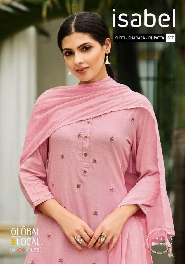 Global Local Isabel Designer readymade Sharara Set New Catalog Wholesaler