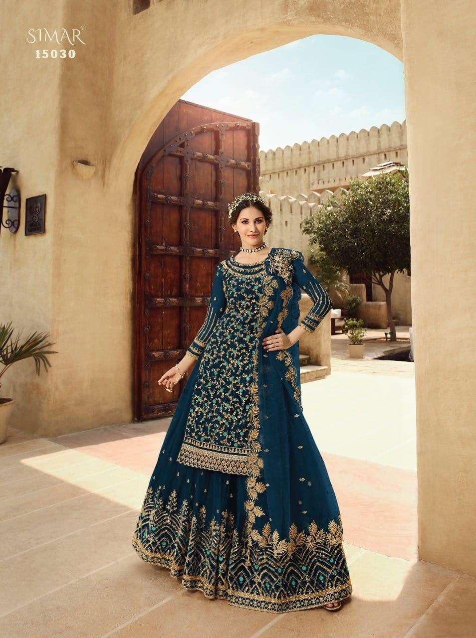 Glossy 15030 Colourplus Designer Lehenga Style Catalog Wholesale In Surat