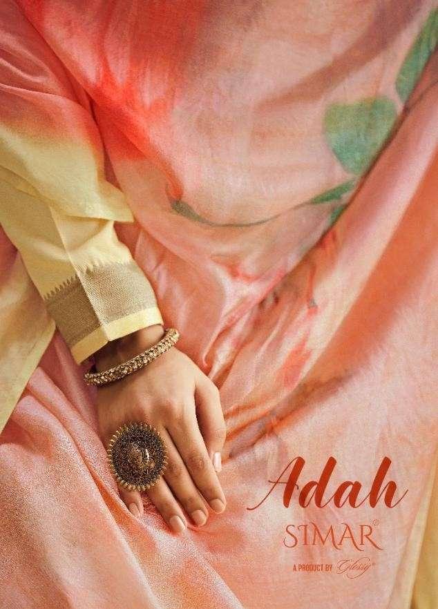 Glossy Adah Exclusive Party Wear Salwar Kameez catalog Wholesale Supplier