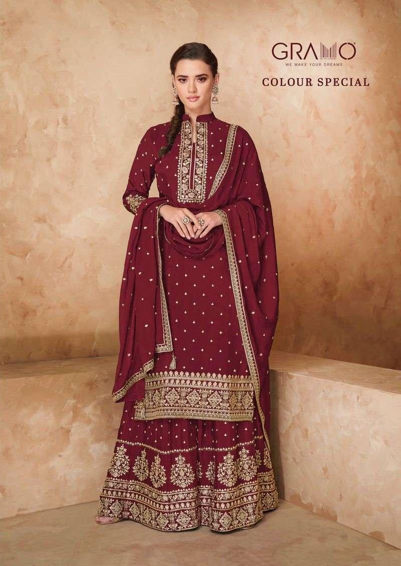Gramo Colour Special Vol 1 Karva Chauth Special Salwar Kameez Collection 2021