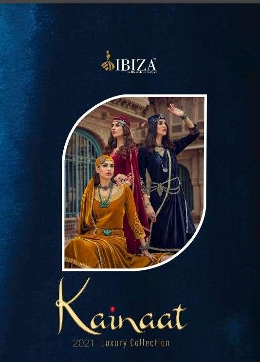 Ibiza Kainaat velvet Designer Salwar Kameez Winter Wear new Collection 2021