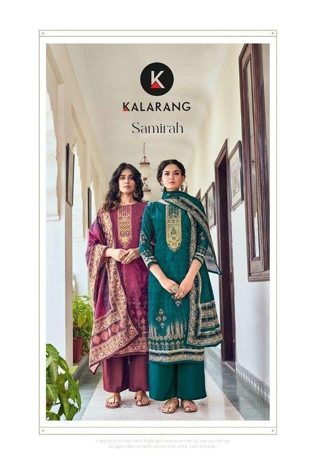 Kalarang Samirah Pure Velvet Digital Print Salwar Kameez Wholesale