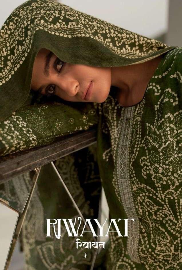 Kilory Riwaayat Exclusive Pashmina Salwar Suit New Designs at best Rate