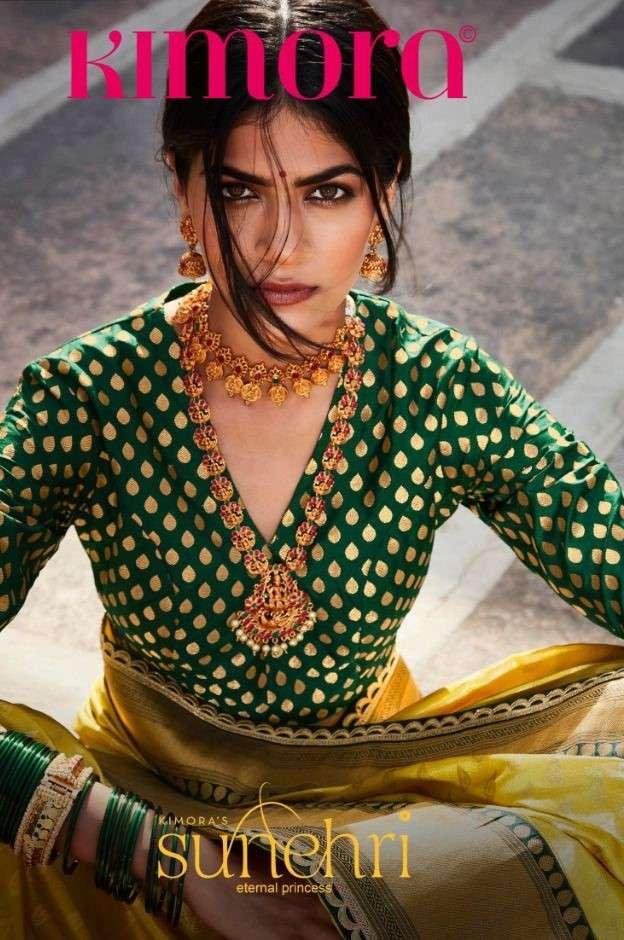 Kimora Sunheri Vol 16 Exclusive Designer Silk Saree Catalog Wholesale Dealer